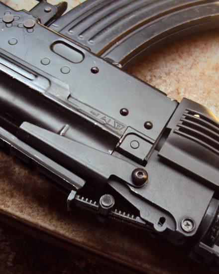 Silent Threats Softair Frosinone ak74