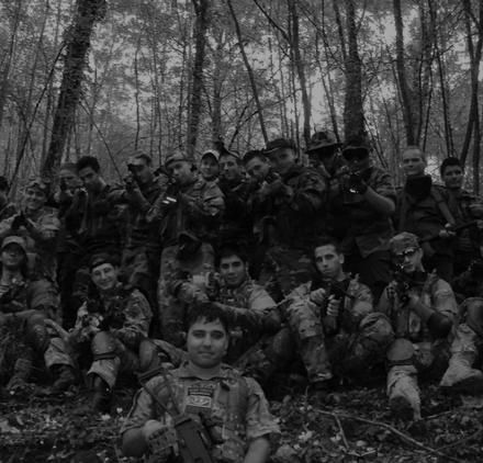 Silent Threats Softair Frosinone foto di gruppo